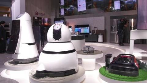 CES 2017: LG ROBOT
