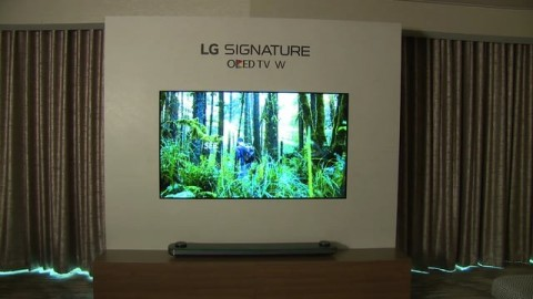 CES 2017: W7 EVENT OLED TV