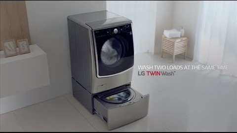 LG TWINWASH: BE THE ULTIMATE MULTITASKER