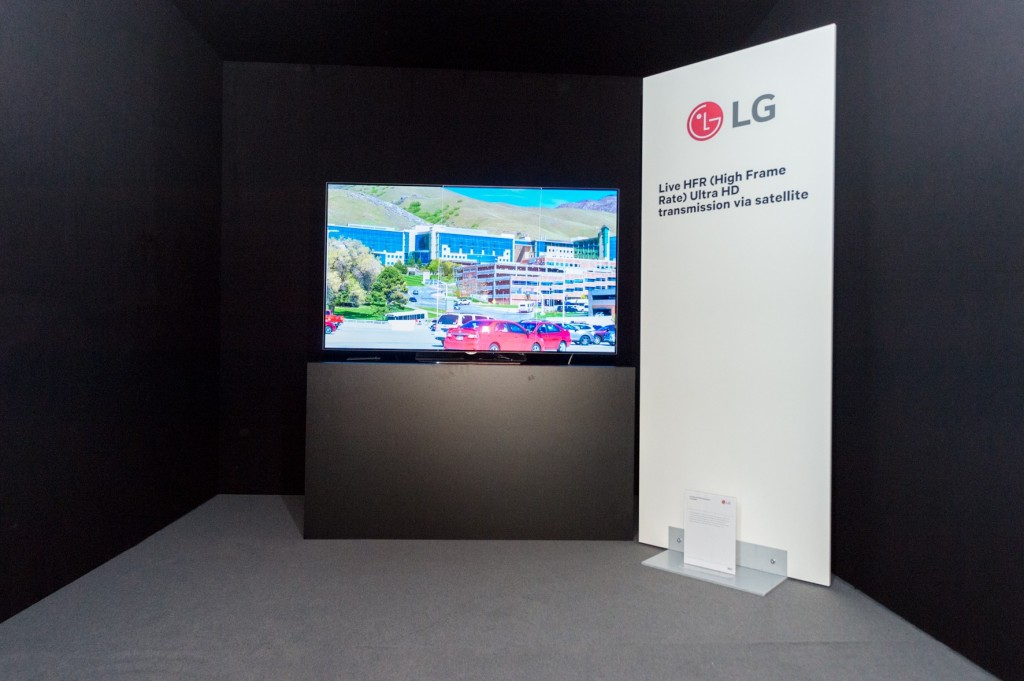 LG-ASTRA DEMO at SES
