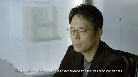 TOKUJIN YOSHIOKA x LG : S.F_Senses of the Future - Design Film