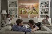 LG ProBeam Projector_HF85J_Livingroom