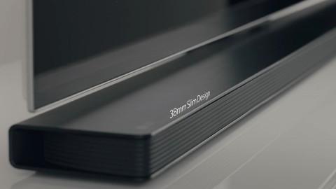 LG SOUNDBAR SJ8 l PERFECT FIT WITH LG TVs