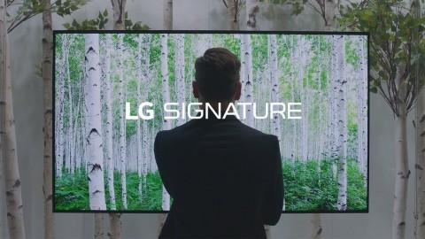 LG at IFA 2017 - LG SIGNATURE OLED TV W