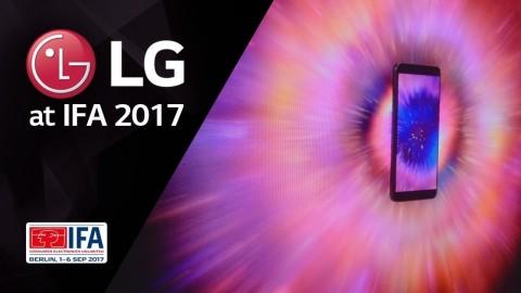 LG at IFA 2017 - LG V30