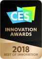 LG HONORED WITH CES 2018 INNOVATION AWARDS