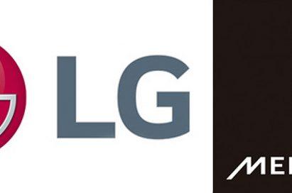 Logo of LG Electronics and Meridian Audio