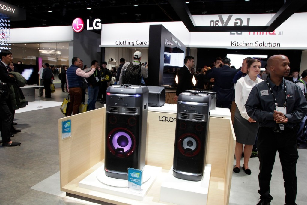 CES 2018 LG Booth Shot 10