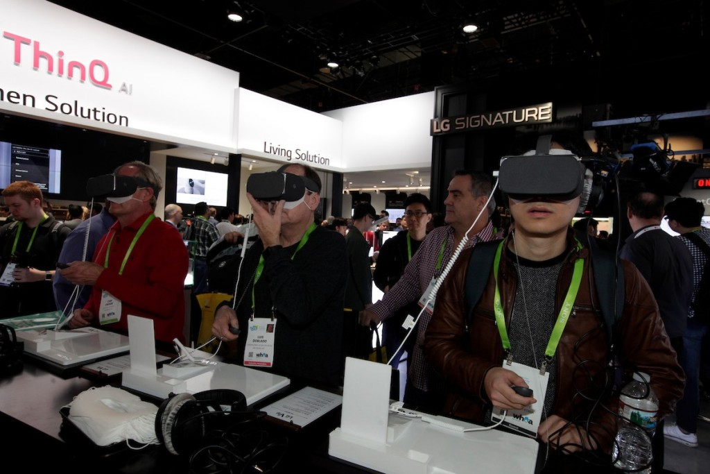 CES 2018 LG Booth Shot 13