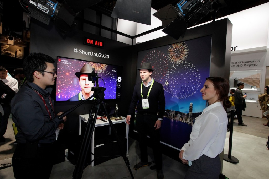 CES 2018 LG Booth Shot 16