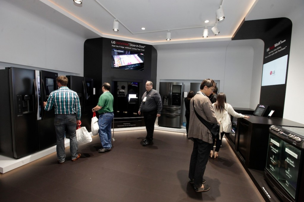 CES 2018 LG Booth Shot 19