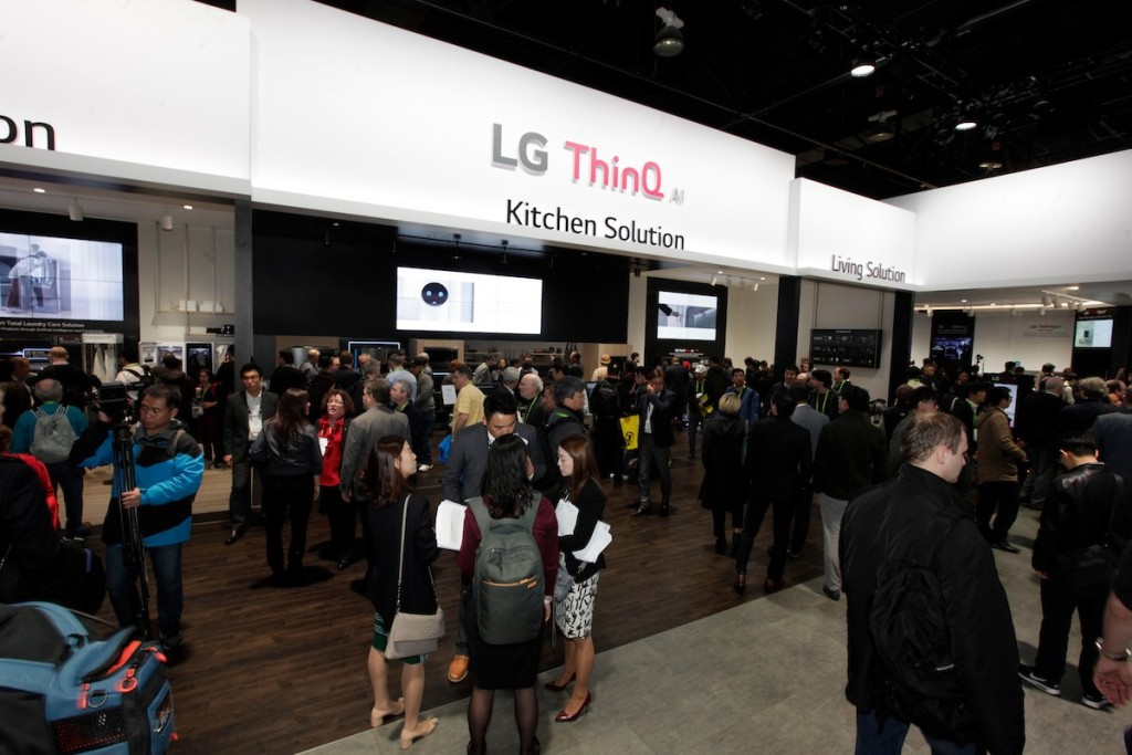 CES 2018 LG Booth Shot 2