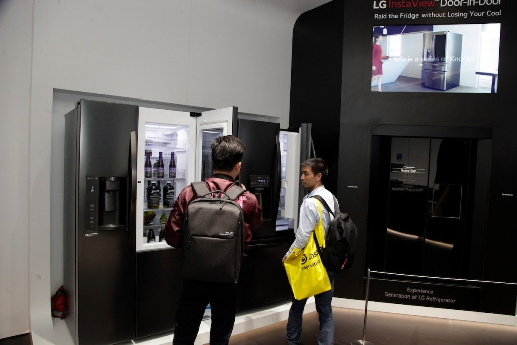 CES 2018 LG Booth Shot 21