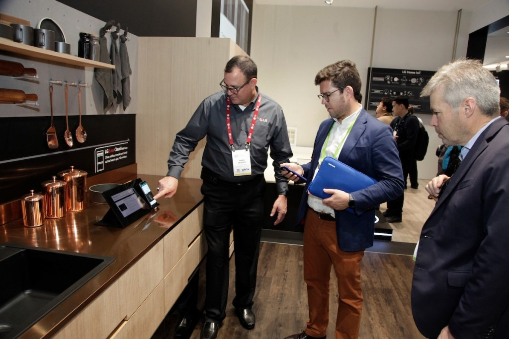 CES 2018 LG Booth Shot 23