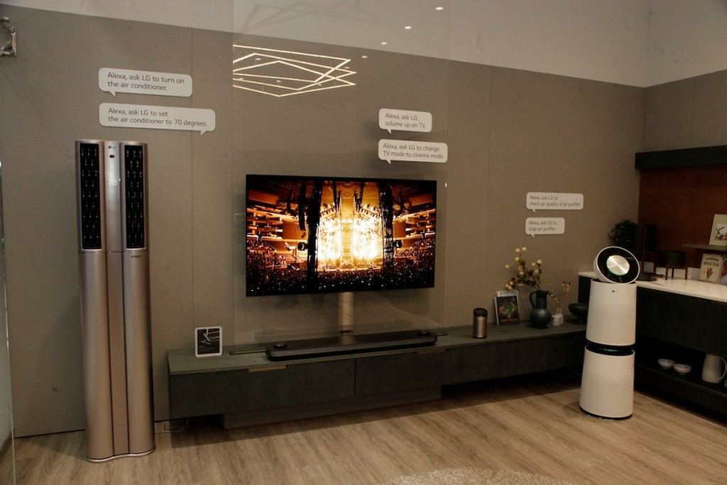 CES 2018 LG Booth Shot 25