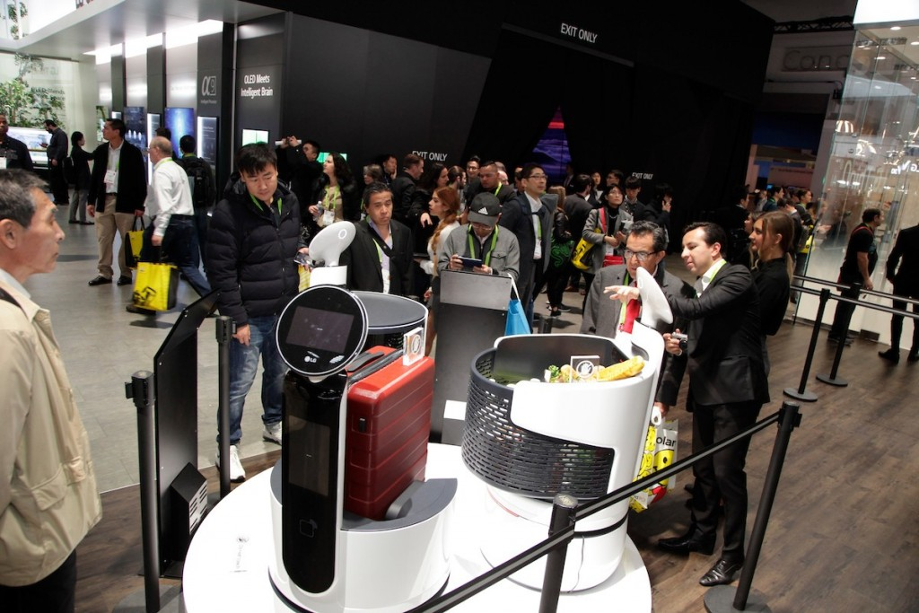 CES 2018 LG Booth Shot 28