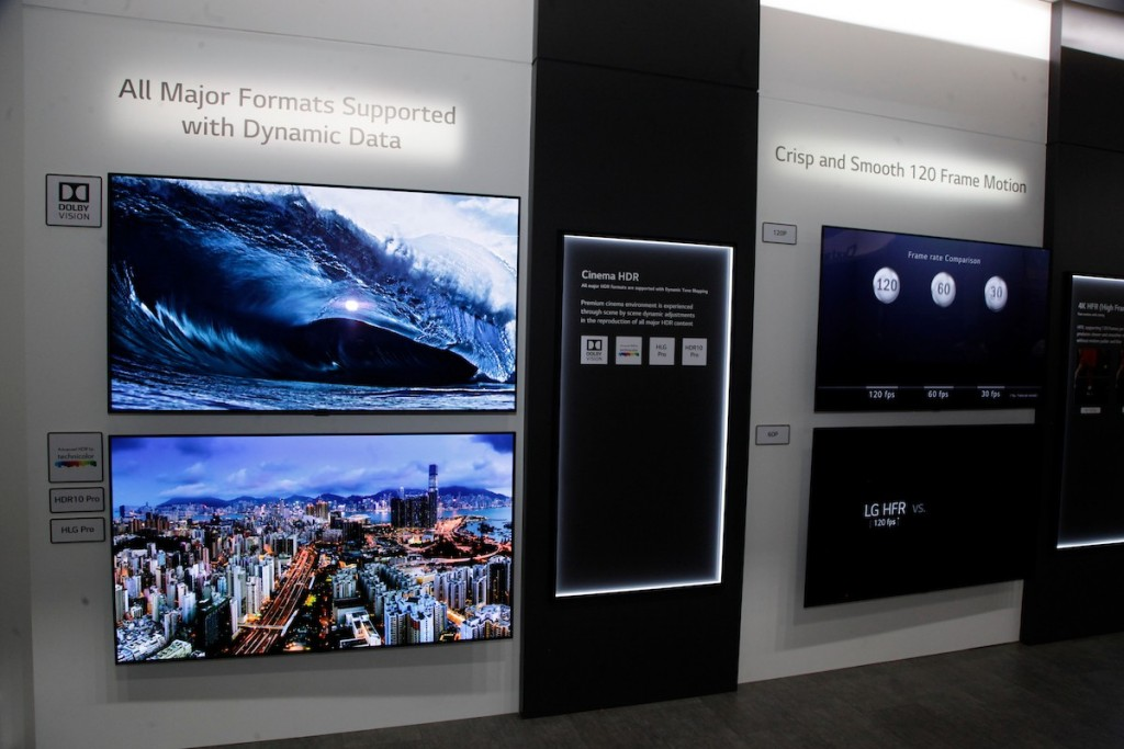 CES 2018 LG Booth Shot 30
