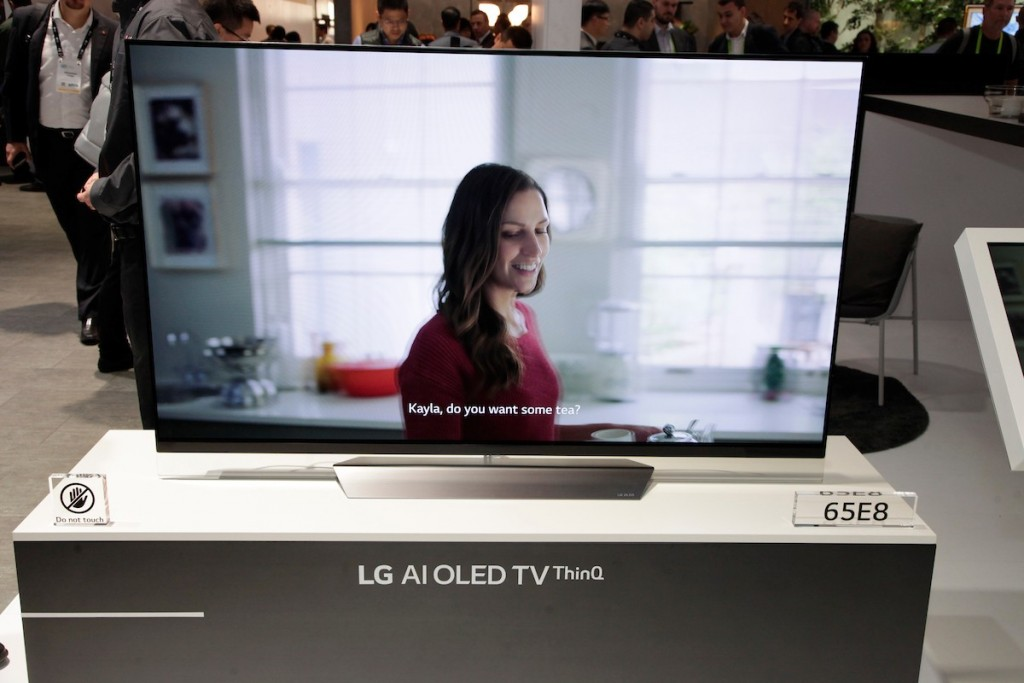 CES 2018 LG Booth Shot 39