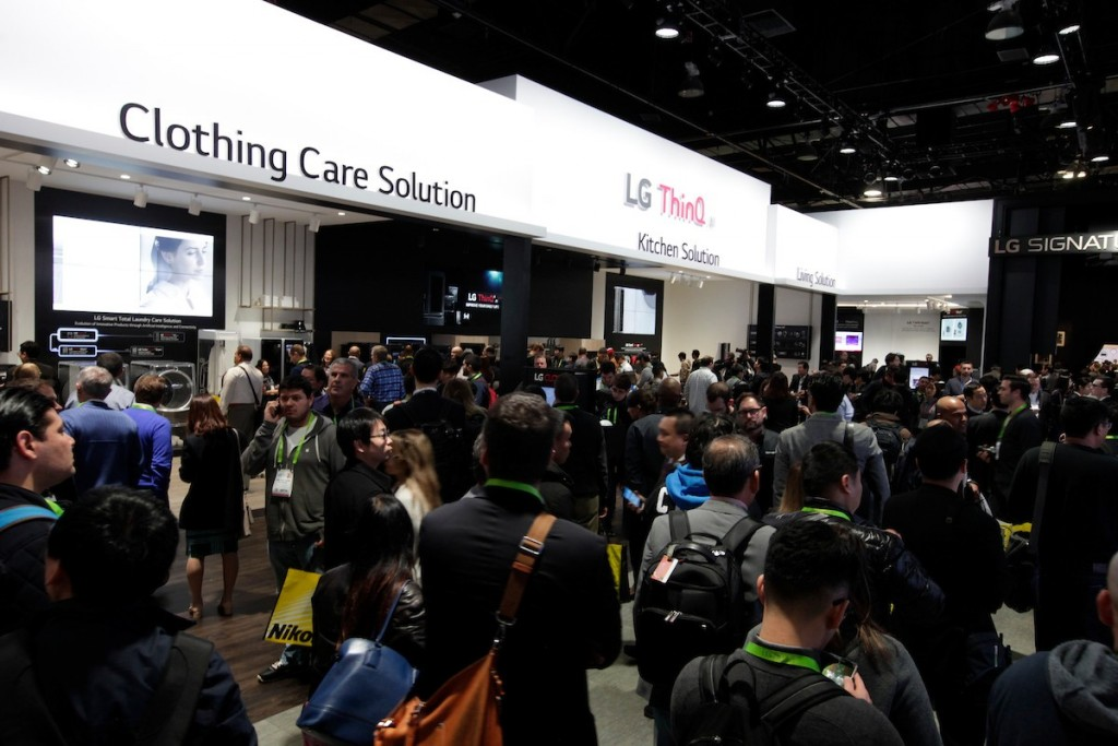 CES 2018 LG Booth Shot 4