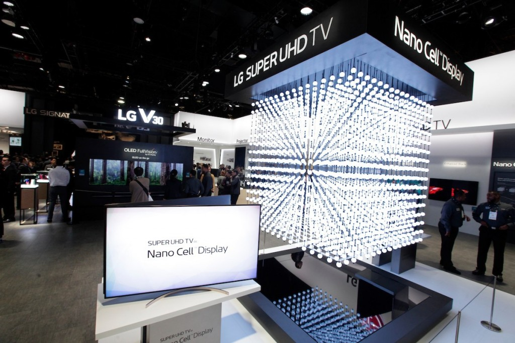 CES 2018 LG Booth Shot 5