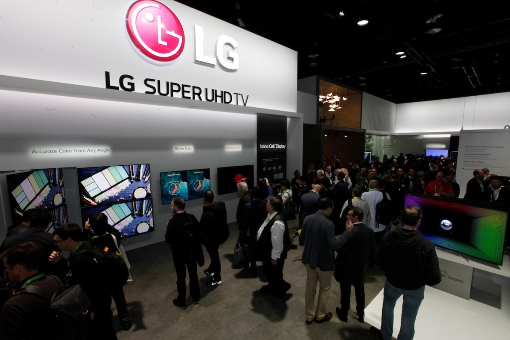 CES 2018 LG Booth Shot 7
