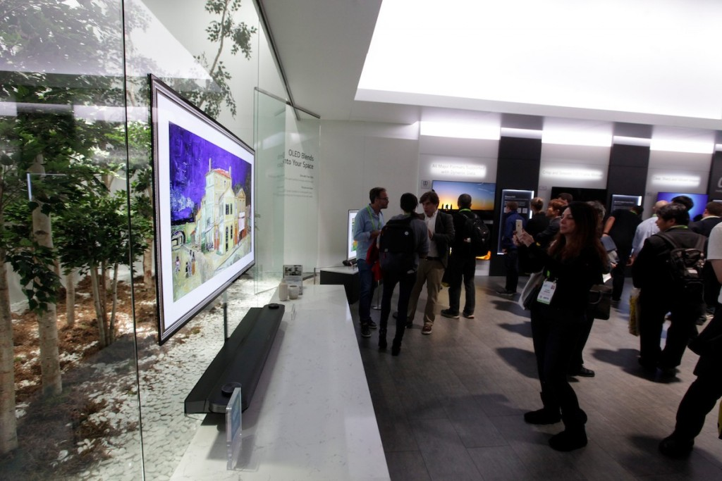 CES 2018 LG Booth Shot 8