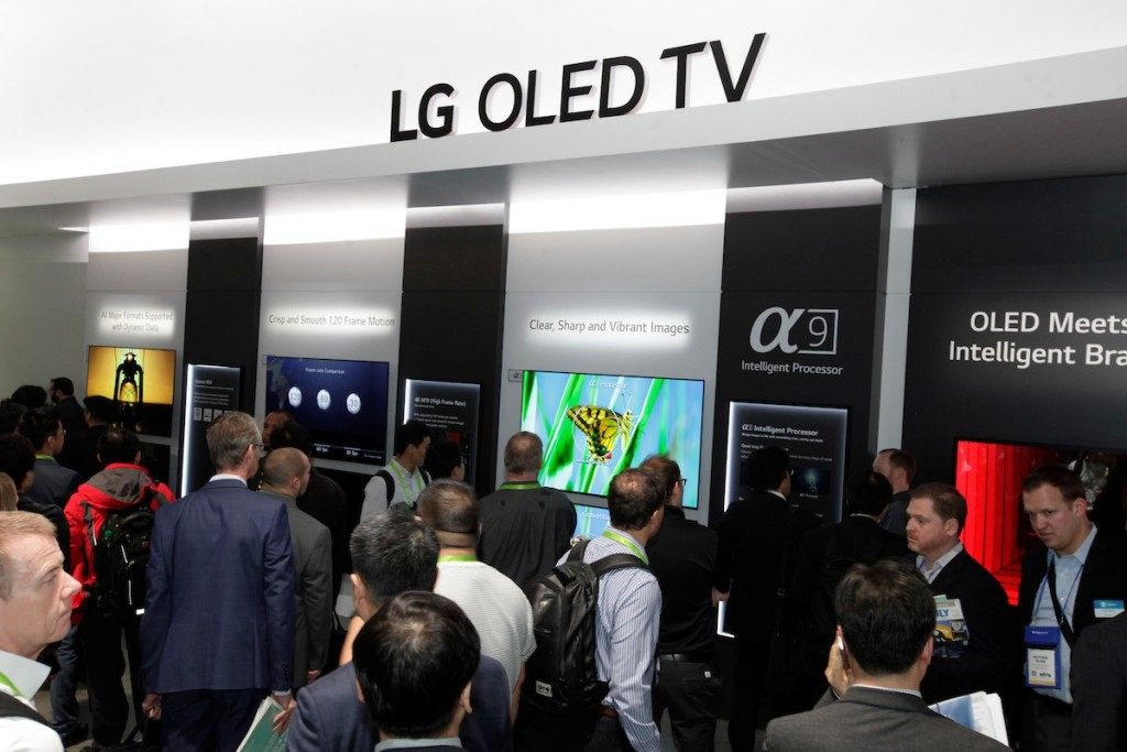 CES 2018 LG Booth Shot 9