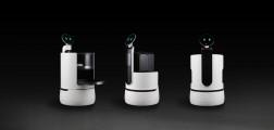 LG Concept Robots Black Background