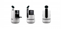 LG Concept Robots White Background
