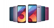 LG G6 and Q6 Colors