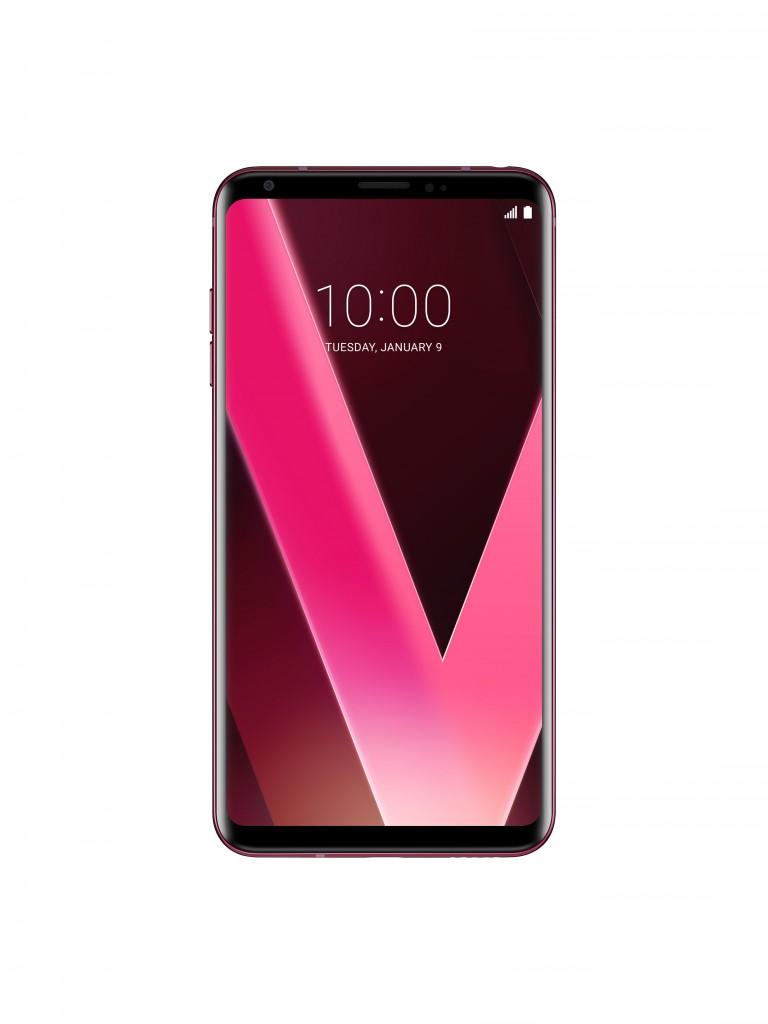 LG V30 Raspberry Rose 4