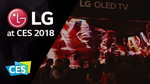 LG AT CES 2018: LG OLED CANYON