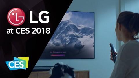 LG AT CES 2018: LG THINQ AI