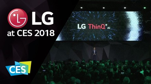 [LG AT CES 2018] PRESS CONFERENCE HIGHLIGHTS
