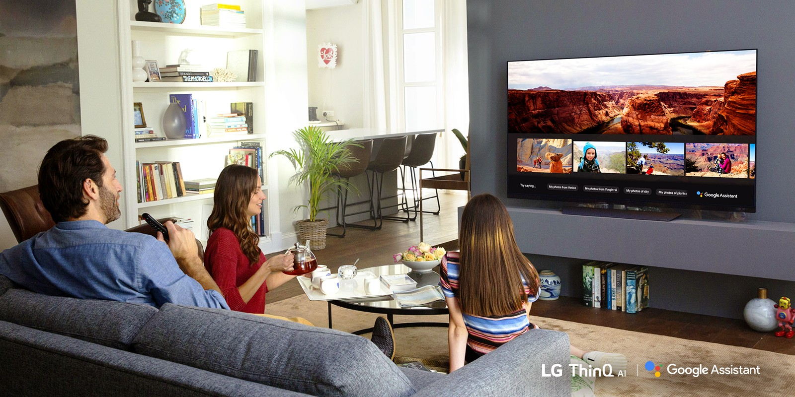 Lg Launches The Google Assistant On 2018 Ai Enabled Tvs Lg Newsroom