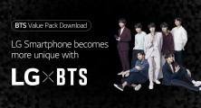 EXCLUSIVE BTS CONTENT AVAILABLE ONLY ON LG SMARTPHONES