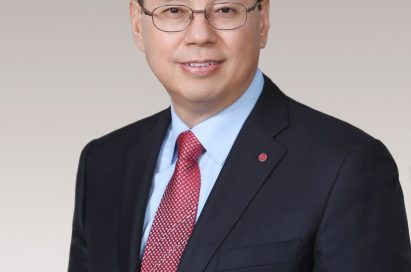 A headshot of chief executive officer LG Electronics, Jo Seong-Jin.
