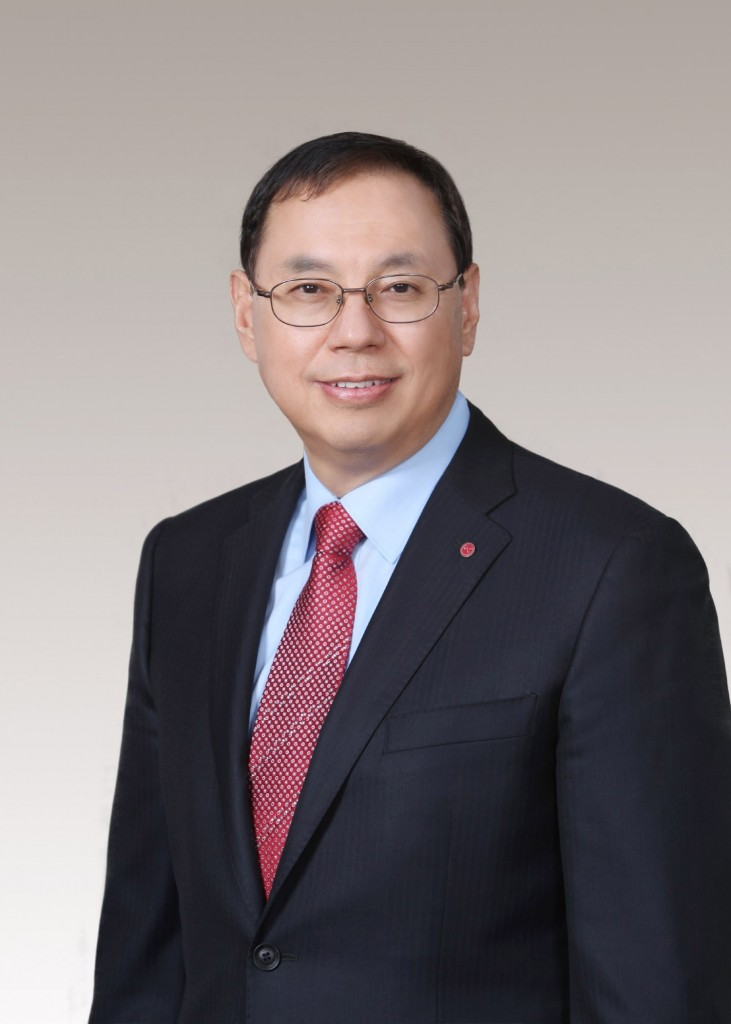 A headshot of chief executive officer LG Electronics, Jo Seong-Jin.