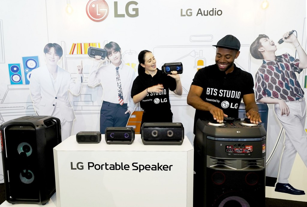 LG CAPTURES ATTENTION OF BTS FANS FROM COAST TO COAST DURING