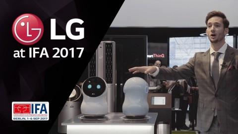 LG AT IFA 2017: LG SMARTHINQ