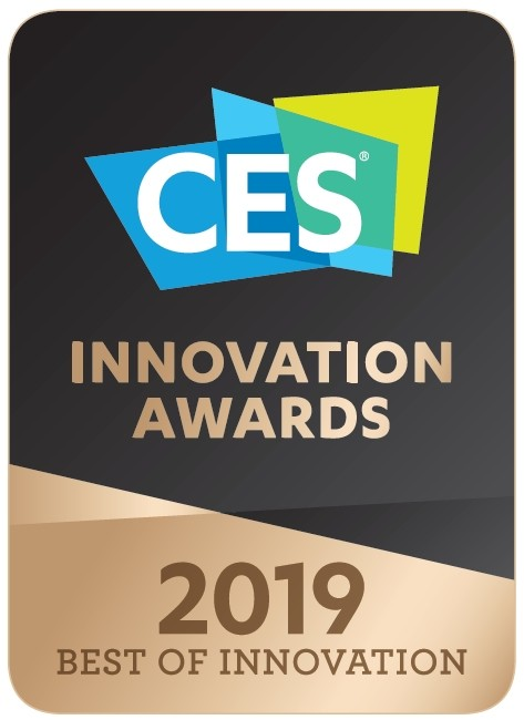 Logo of CES Innovation Awards 2019 – Best Of Innovation.
