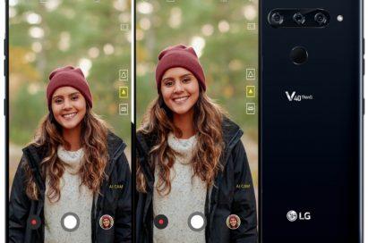 A comparison between the original portrait photo and AI-adjusted portrait photo