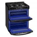 LG oven for smart kitchen solutions with door open