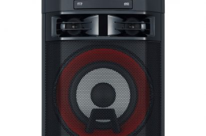 A front view of LG XBOOM model OL55