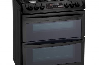 LG oven for smart kitchen solutions with door closed