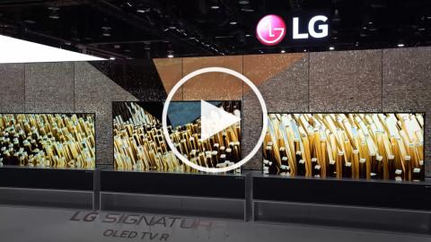 CES2019 : LG SIGNATURE OLED R