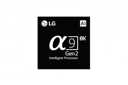 Logo of the LG Alpha 9 Gen 2 processor