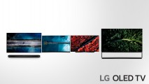 LG OLED TV 2019 adopting more powerful AI (4) - W9, E9, C9, Z9 from the left side