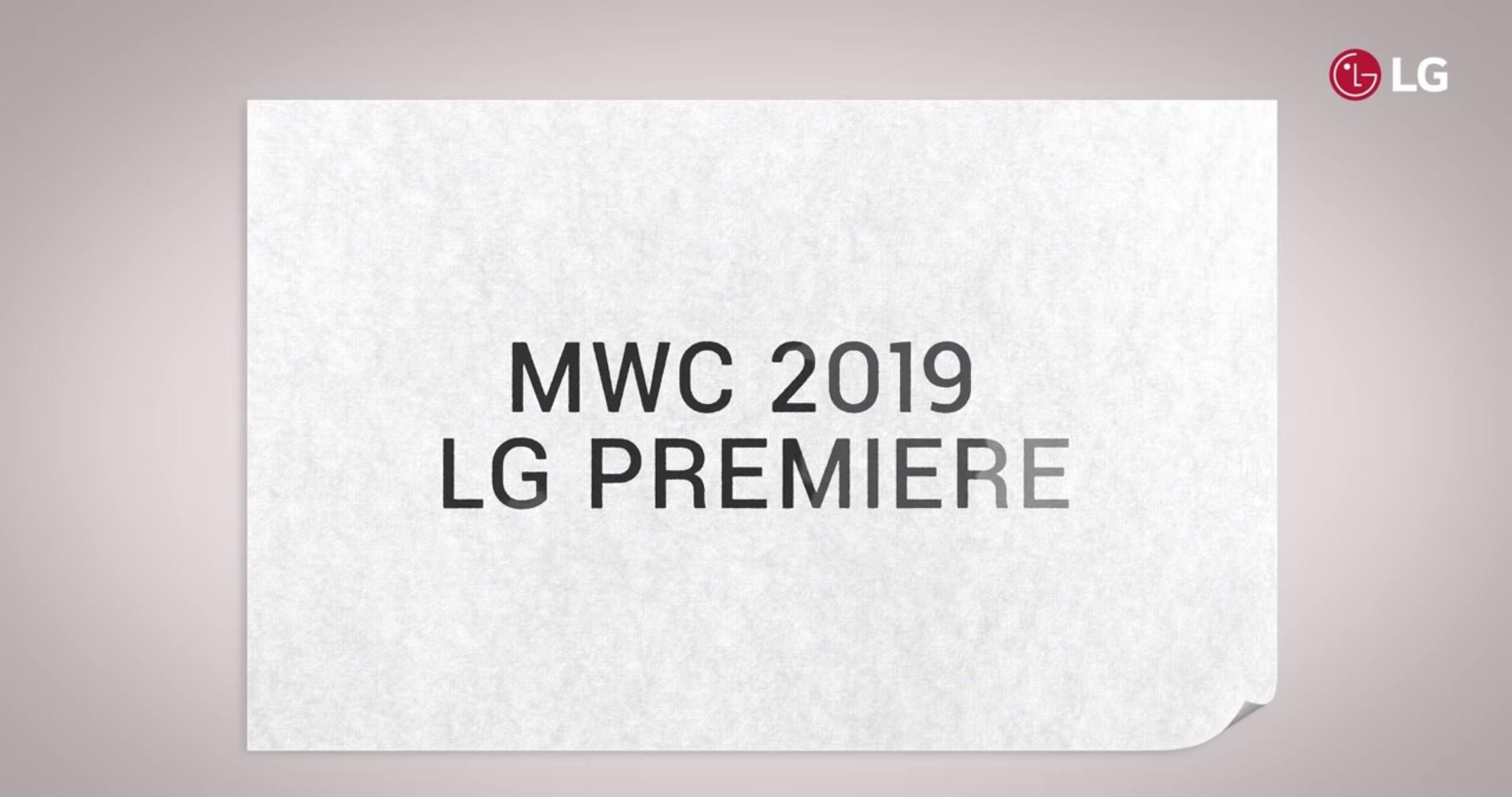 MWC 2019 LG PREMIERE