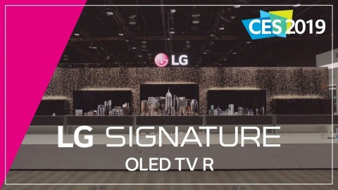 CES 2019 : LG SIGNATURE OLED TV R_FULL VERSION
